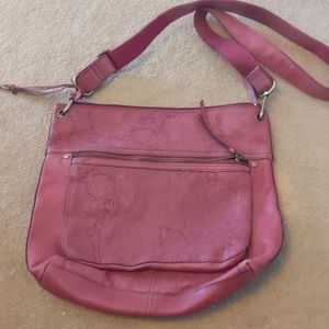 Fossil brand leather satchel